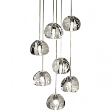 PRISM ARCHITECTURAL HIGH CEILING CRYSTAL HANGING PENDANT