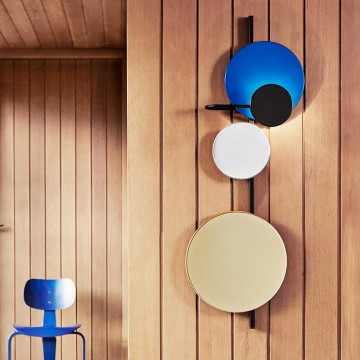 DURALIX COOL FUNKY COLOURFUL PLANET DISC WALL LIGHT