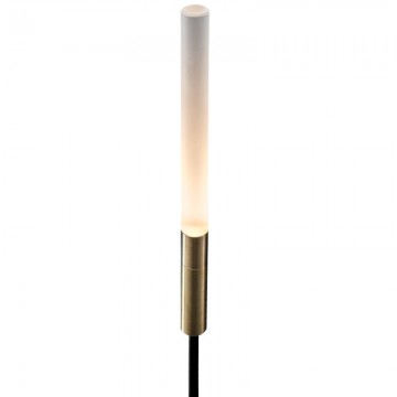 REAGAN IP54 DECORATIVE GOLD ACRYLIC STICK OUTDOOR GARDEN SPIKE LIGHT (4 SIZES)
