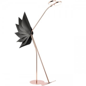 BLIX DESIGNER INSPIRED CREATIVE FIERY ROSE GOLD FLAMINGO