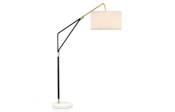 White Marble Base Floor Lamp, Floor Lamp Concrete Base Repair