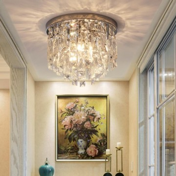 JOVIAN CRYSTAL SURFACE MOUNTED DECORATIVE CEILING LIGHT