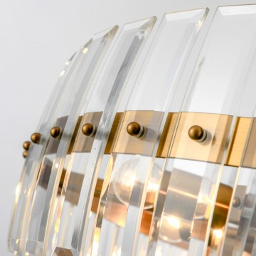 ISSAC INDUSTRIAL DESIGN GLASS SHADE CLEAR GOLD OR ASH GREY BLACK HANGING LIGHT (ROUND/ RECTANGULAR)