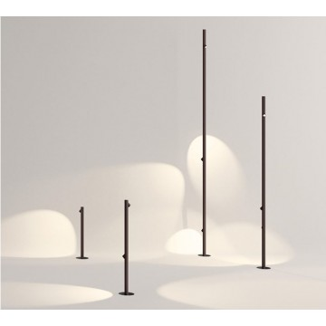 MARTINA DESIGNER BAMBOO NATURE-INSPIRED LED OUTDOOR IP65 BOLLARD POLE SPIKE SPOTLIGHT