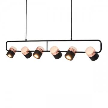 ALOUETTE MULTI-FIXTURE PENDANT (BLACK & ROSE GOLD / WHITE & GOLD)