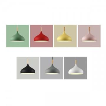 CAMEO FASHION WOOD TIP PENDANT DECORATIVE LAMPS