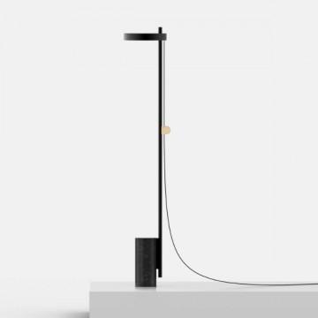 AZURE NORDIC BLACK MARBLE BASE DIMMABLE FLOOR LAMP