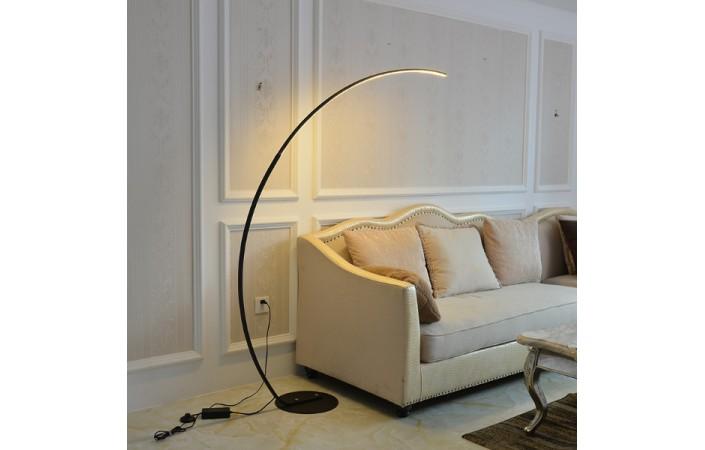 Flair Designer Inspired Arching Floor, Floor Lamp Concrete Base Repair