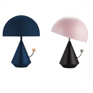 ALARD FUN UNIQUE CHILDREN'S TABLE LAMP (PINK/ NAVY BLUE)