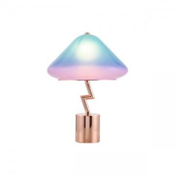 DEV FUNKY COLOURFUL RAINBOW FUN CREATIVE TABLE LAMP