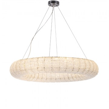 OMEGA ROUND CRYSTAL BEADS LUXURIOUS CHANDELIER