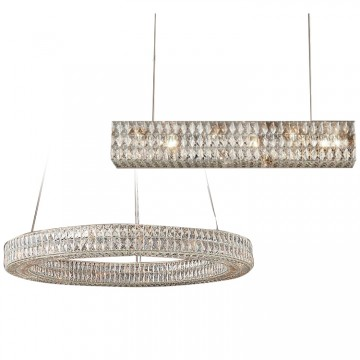 RESTORE HIGH CLARITY CRYSTAL CHANDELIER (ROUND/ RECTANGULAR)