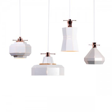AMBIT CONTEMPORARY HEXAGONAL PERFORATED PENDANT