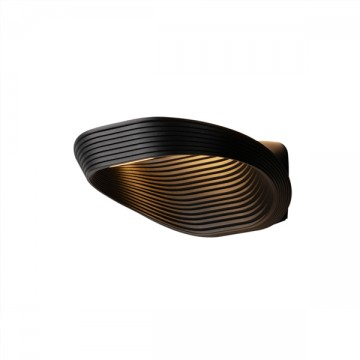 LAMBENT NORDIC MINIMALIST MODERN RIBBED WALL LIGHT (BLACK/ WHITE)