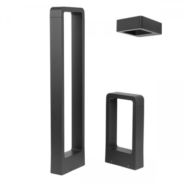 RAZE OUTDOOR NORDIC RECTANGULAR LIGHT SERIES (WALL LIGHT/ BOLLARD)