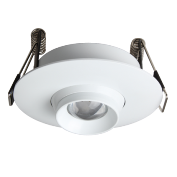 ASHER CABINET / GALLERY ADJUSTABLE BEAM ROUND SPOTLIGHT
