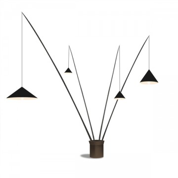 LUMINATE DESIGNER INSPIRED NORDIC MULTIPLE RODS FLOOR LAMP